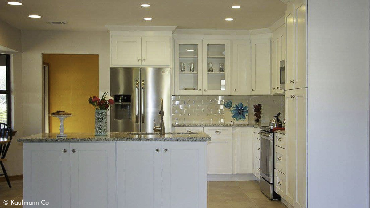 White Kitchen Remodeling